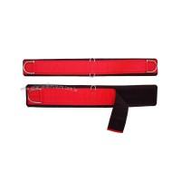 Barrigueira em Neoprene Refil Vermelha Meia Argolas Inox