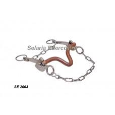 Freio Agua Choca Leve Inox Bocal Bronze SE2063