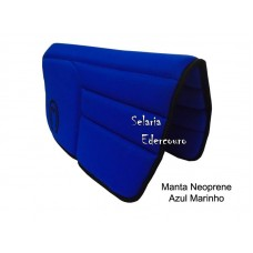 Manta Mangalarga Marchador Neoprene Azul Marinho SE16102
