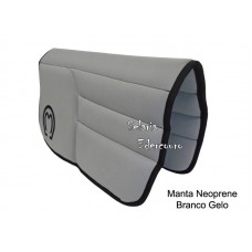 Manta Mangalarga Marchador Neoprene Branco Gelo SE16103