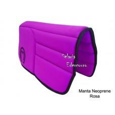 Manta Mangalarga Marchador Neoprene Rosa SE16105