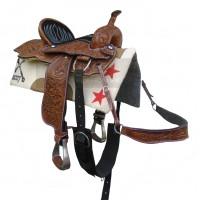 Sela Americana Couro Completa para Cavalgada SETOP5000