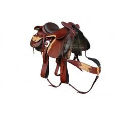 Sela Completa para Cavalgada Couro de Bufalo SE6030202