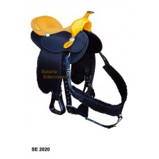 Sela Tambor e Baliza Neoprene Horse Champion SE2020
