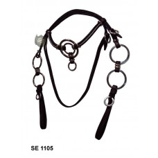 Cabeçada Argolada inox SE 1105